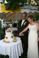 Moose River Cutting The Wedding Cake
